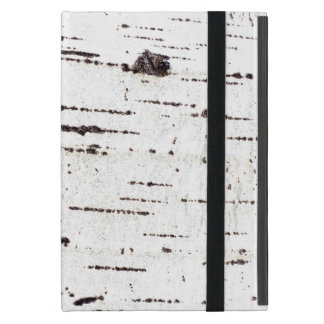 Birch bark pattern cover for iPad mini