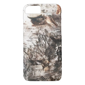 Birch bark phone cover