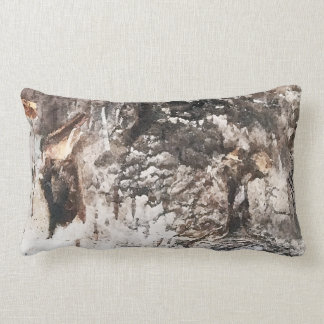 Birch bark pillow