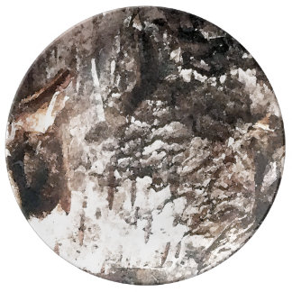 Birch bark plate