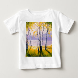 Birch by the river baby T-Shirt