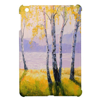Birch by the river case for the iPad mini