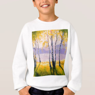 Birch by the river sweatshirt
