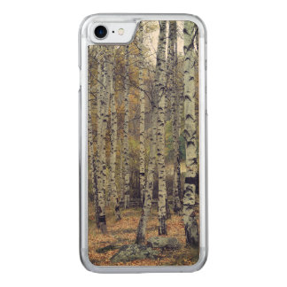 Birch forest Apple iPhone 8/7 Slim Maple Wood Case