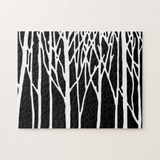 Birch Forest by Leslie Peppers Jigsaw Puzzle