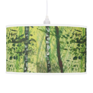 Birch forest pendant lamp