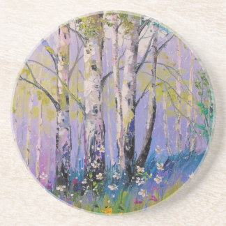 Birch grove coaster