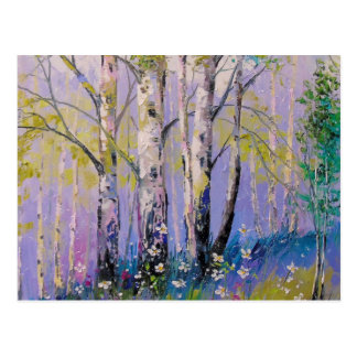 Birch grove postcard