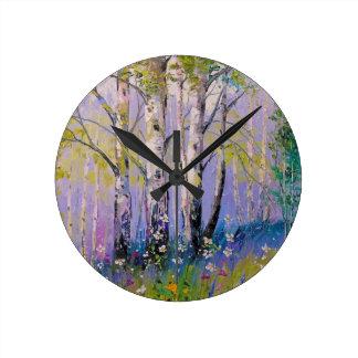 Birch grove wall clocks