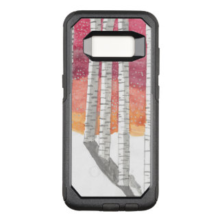 Birch In The Snow OtterBox Commuter Samsung Galaxy S8 Case
