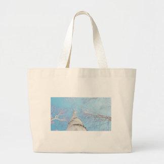 birch large tote bag