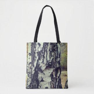 Birch Tree Custom All-Over-Print Tote Bag