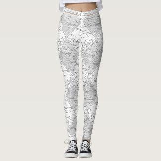 Birch-Tree-Diamond's_Gray__LEGGING'S_XS-XL Leggings