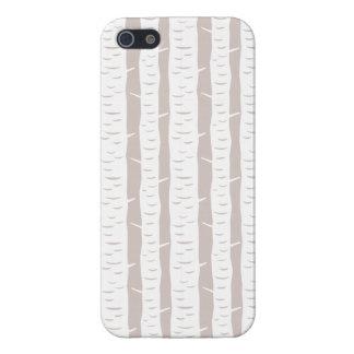 Birch Tree Forest iPhone 5 Case