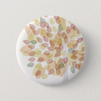 Birch Tree in Fall Colors 2 Inch Round Button