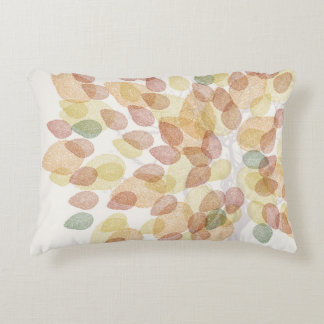 Birch Tree in Fall Colors Accent Pillow