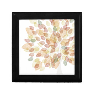 Birch Tree in Fall Colors Gift Box