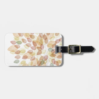 Birch Tree in Fall Colors Luggage Tag