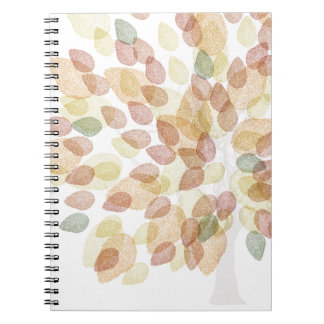 Birch Tree in Fall Colors Notebooks