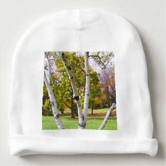 Birch Tree in the Park Baby Beanie