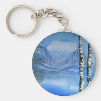 Birch Tree Keychain