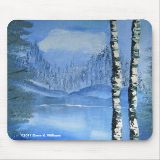 Birch Tree Mousepad