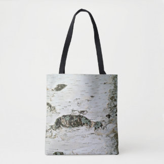 Birch Tree Trunk Nature Tote