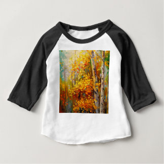 Birch trees baby T-Shirt