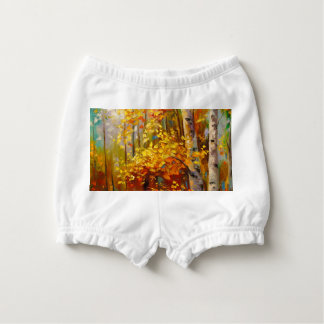 Birch trees diaper cover