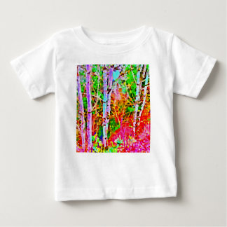 Birch Trees in Springtime Baby T-Shirt
