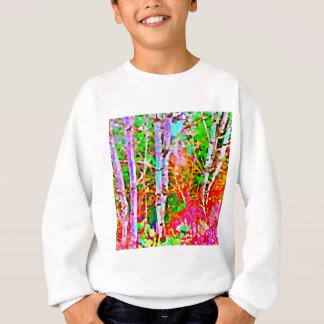 Birch Trees in Springtime Sweatshirt