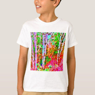 Birch Trees in Springtime T-Shirt