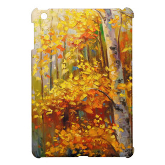 Birch trees iPad mini covers