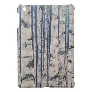 Birch trees Morse Code Case For The iPad Mini
