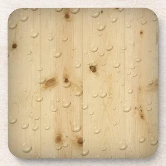 Birch Wood Cork Coaster