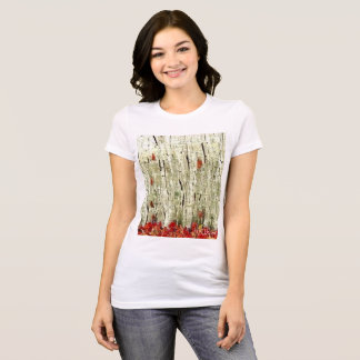 Birch wood Forrest Design 1 Tshirt