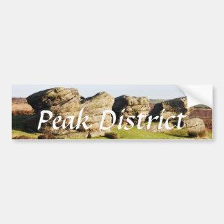 Birchen Edge, Peak District souvenir photo Bumper Sticker