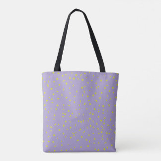 Birches Are Dressing Up Lilac All Over Tote Bag