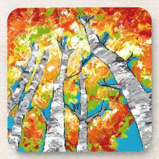 Birches Beverage Coaster