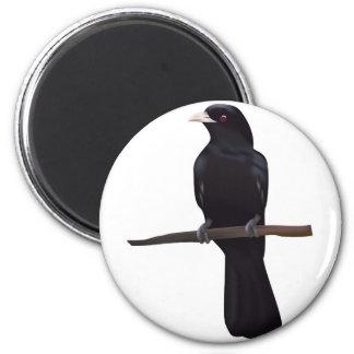 Bird --4 2 inch round magnet