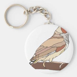 bird #7 keychain