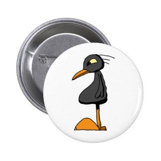 Bird 8 2 inch round button