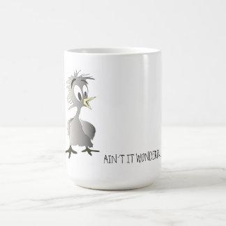 Bird-ain´t it wonderful! basic white mug