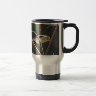Bird American Goldfinch Nature Travel Mug