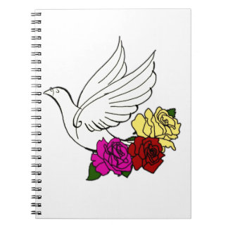 Bird and Flowers Notebooks