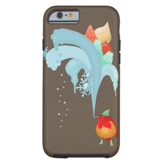Bird and ice-cream tough iPhone 6 case