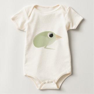 bird- art inspiration black white design baby bodysuit