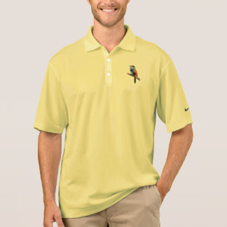 Bird art polo shirt