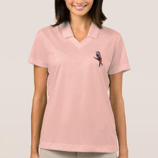 Bird art polo shirt
