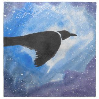 Bird At Night Napkin